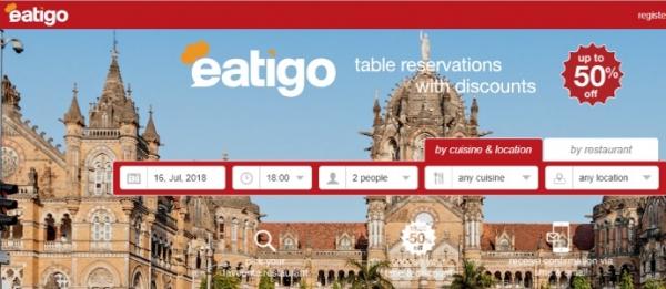 Eatigo:餐厅预订平台再获TripAdvisor投资