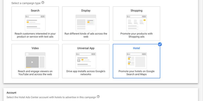 谷歌:整合新广告平台 简化酒店广告宣传程序