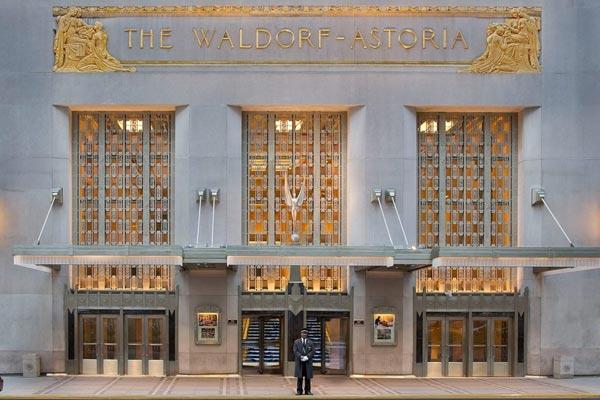 安邦:或将于今年秋出售纽约华尔道夫酒店