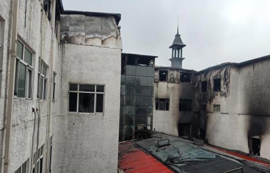 哈尔滨酒店火灾:教训惨痛 消防安全不到位