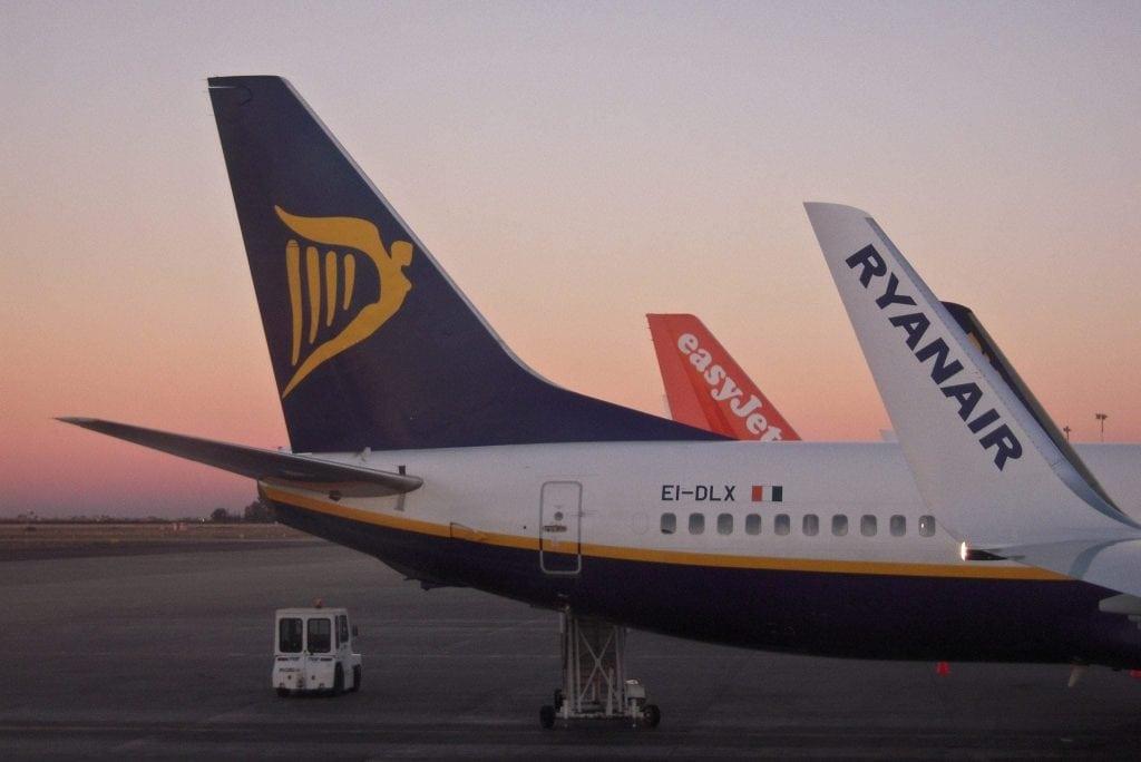易捷和瑞安:对英国脱欧后航空业事项有分歧