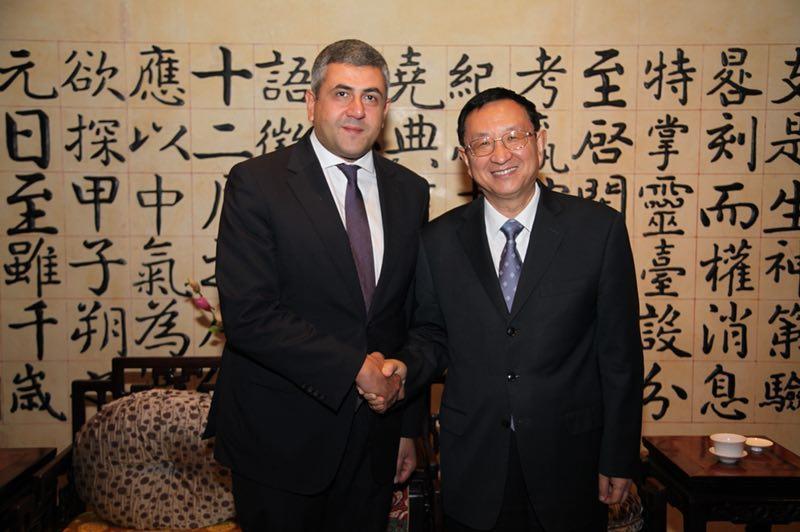 雒树刚部长:会见联合国世界旅游组织秘书长