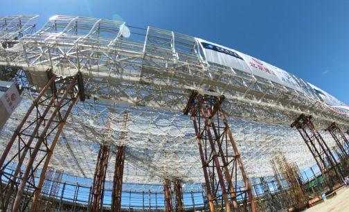 双枢纽:南航北京新机场基地首个大项目封顶