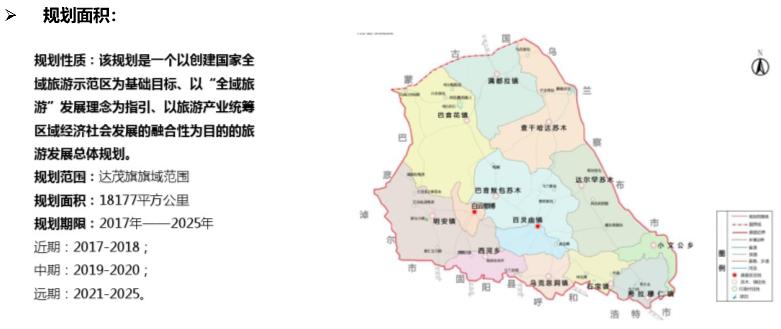 解读:内蒙古包头达茂旗全域旅游发展总体规划