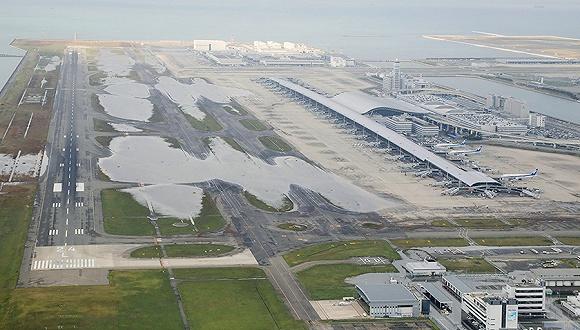 日本:关西机场关闭冲击旅游业 每天损失上亿