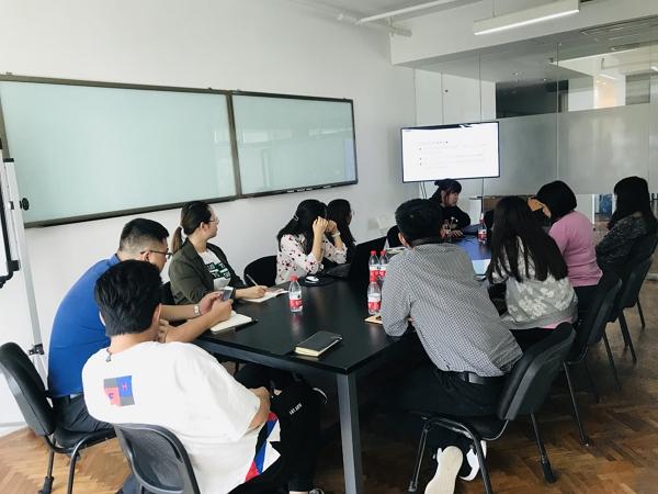 国庆前夕:品橙旅游编辑部进行版权系列培训