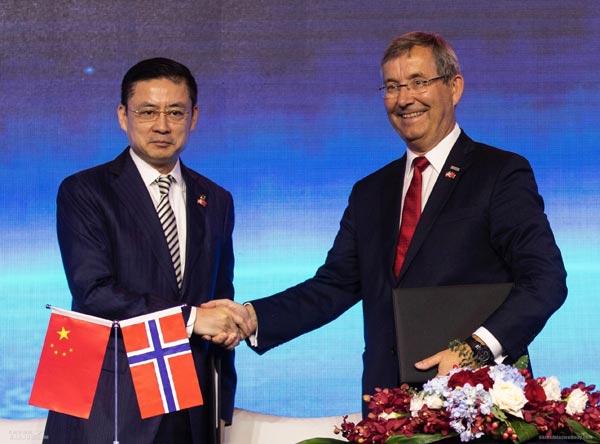 海航:2019年将开通首条中国至挪威直飞航线