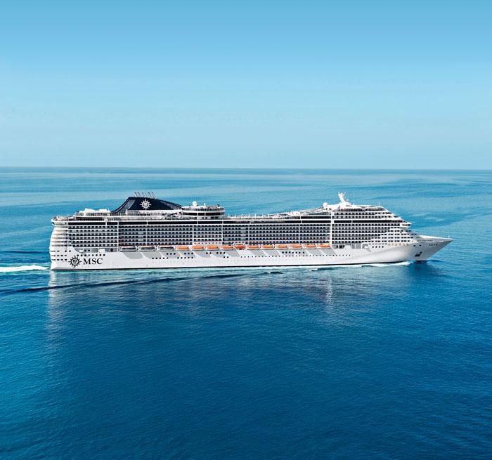 MSC地中海邮轮:地中海辉煌号将首入华南市场