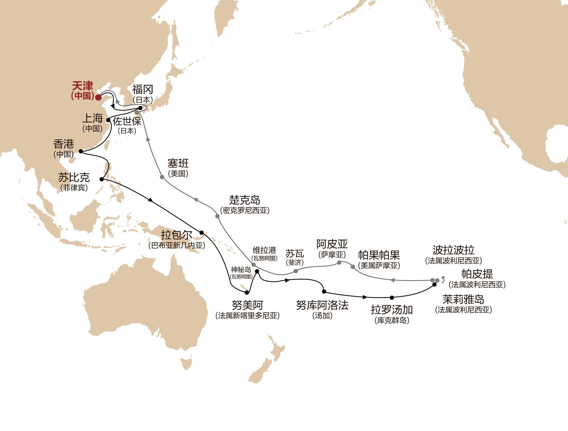 中国国家元首首访巴新:助力太平洋岛国旅游