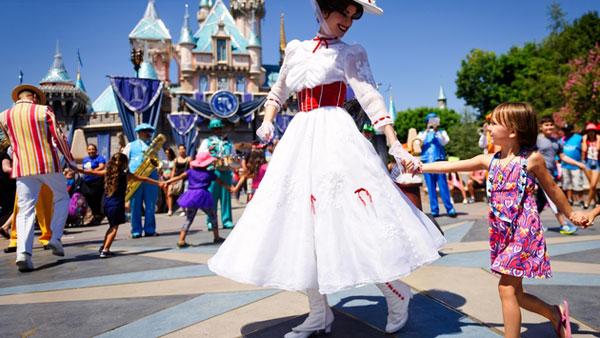 迪士尼:美国地区的入园人次和收入有所增长