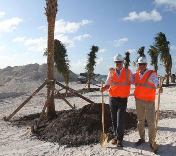 MSC:在海洋礁MSC海洋保護區種植第一批綠樹