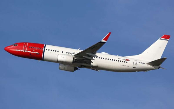 挪威航空公司:融资3.53亿美元以维持运营