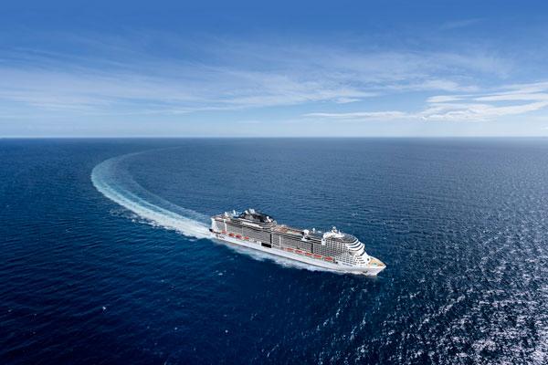MSC:地中海邮轮举行地中海鸿图号出坞仪式