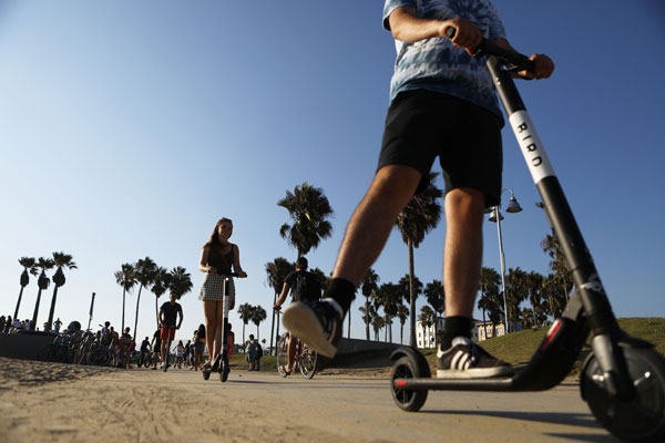 Bird:电动滑板车创业公司再获3亿美元融资