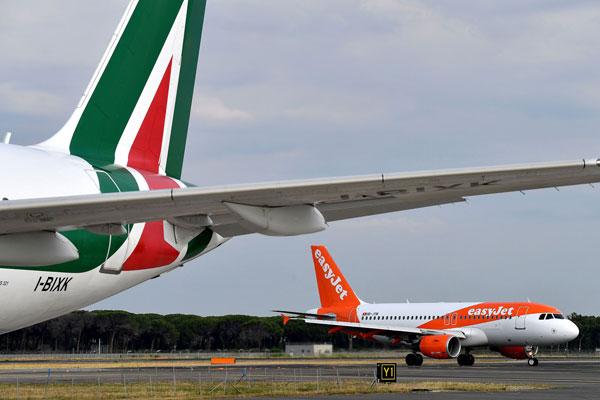 达美和易捷:为挽救意大利航空 或注资4亿欧元