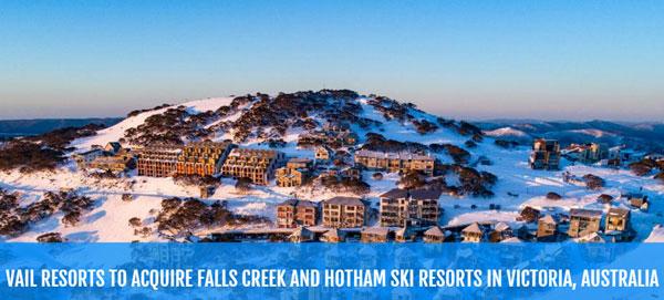 Vail Resorts:1.24亿$收购默林两家滑雪度假村