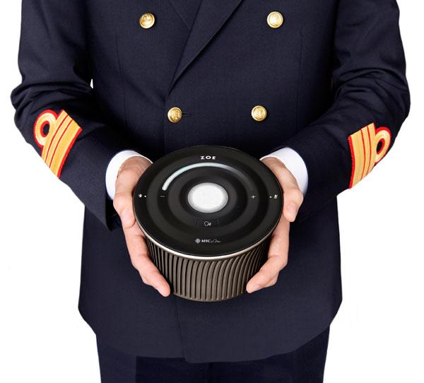 MSC:推出邮轮行业首个智能语音私人助理ZOE