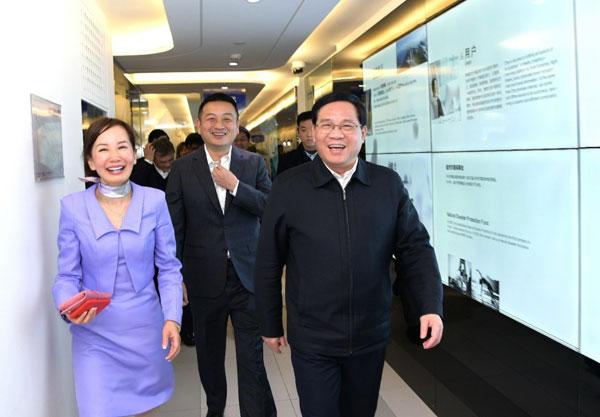 上海市委书记李强调研信息消费 携程积极响应