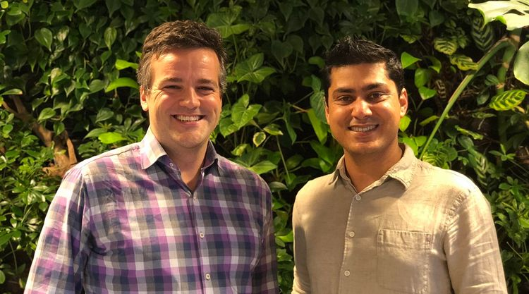 ZUZU co-founders Dan Lynn (left) and Vikram Malhi