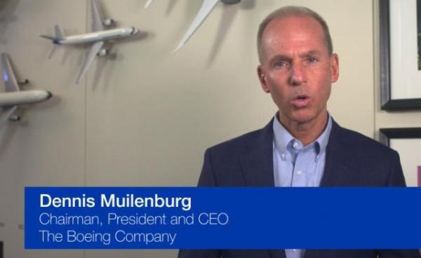 波音CEO露面发声:哀悼遇难者 升级737 MAX
