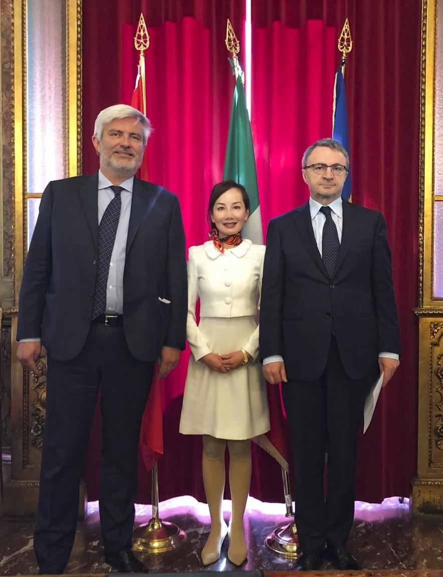 携程:签约意大利旅游局 助推一带一路建设
