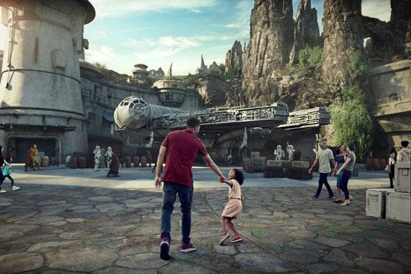 """迪士尼:将提前开放新的""""星球大战""""主题园区"""