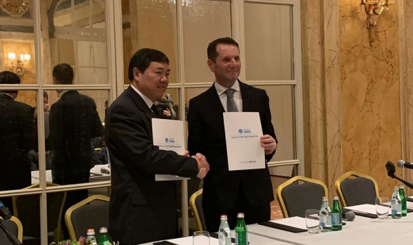 国旅总社:与意大利六大区签署旅游合作备忘录
