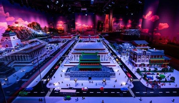 乐高版北京城:华北首家乐高探索中心揭幕