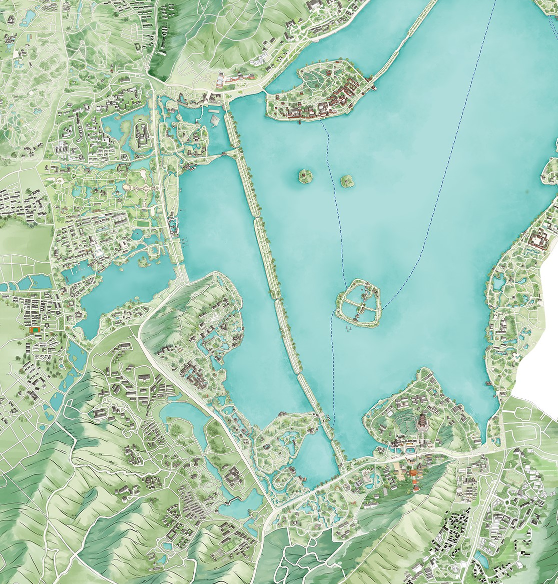 西湖区古荡派出所地图