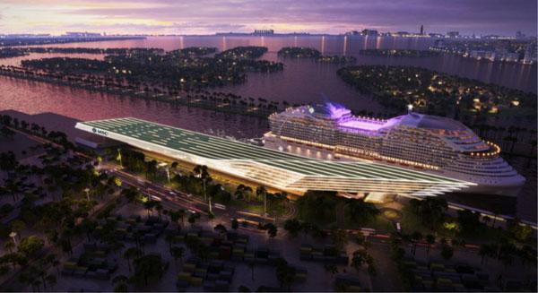 MSC:在迈阿密港建造高度创新邮轮码头航站楼