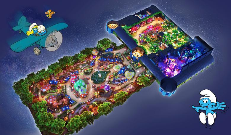 世茂集团:亚太首个蓝精灵主题乐园正式启动