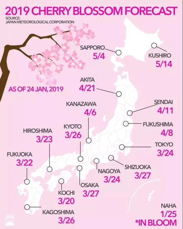日本:樱花季182亿消费,如何做到吸睛又吸金