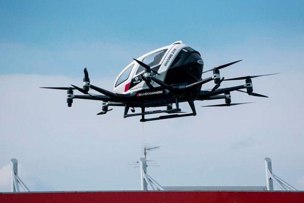 Volocopter:欲在亚洲市场率先推出空中出租车