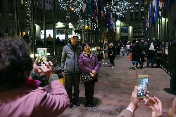 美國:受多方因素影響,赴美中國游客人數減少