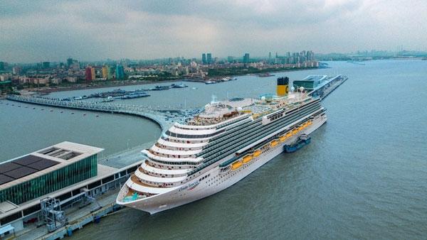歌诗达·威尼斯号:于上海举行盛大首航仪式