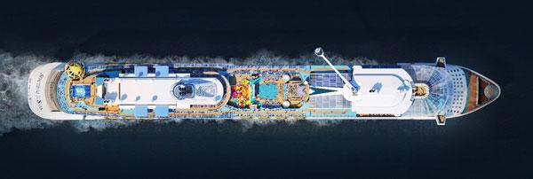 先睹为快:揭秘皇家加勒比全新游轮海洋光谱号