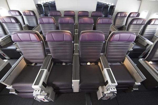 美联航:豪华经济舱缔造游客舒适出行体验