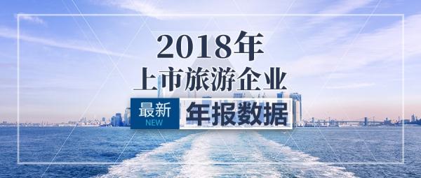 一图读懂:2018年上市旅游企业年报业绩数据
