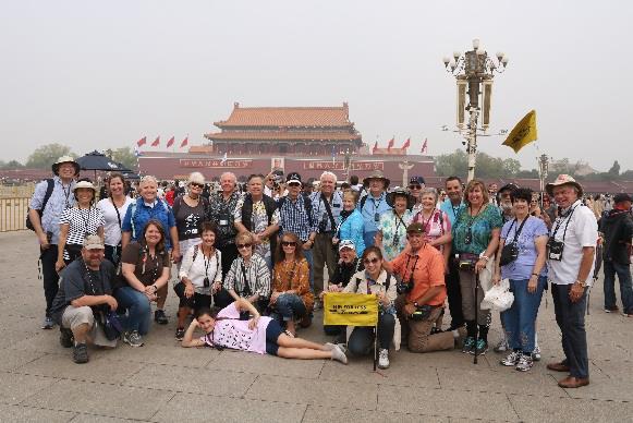 千乘假期国旅:成功接待美国170余位游客