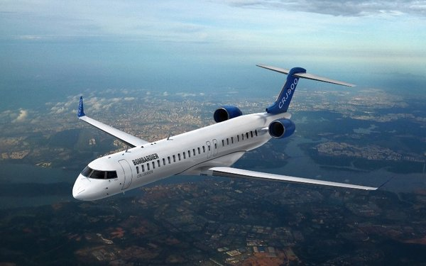 三菱重工:將全資收購龐巴迪CRJ支線客機項目