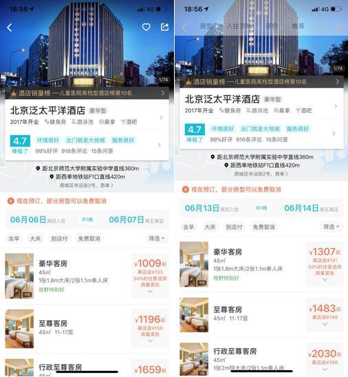 """北京""""高考房"""":7成考生选择民宿或经济型酒店"""