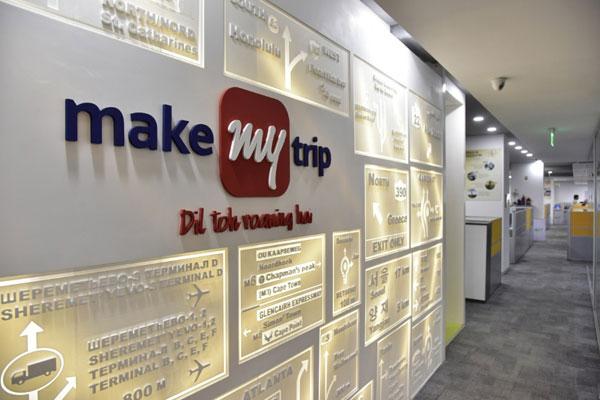 MakeMyTrip:上一季度总预订量增长24%