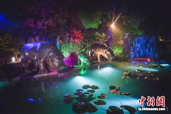 """无锡:""""动物园奇妙夜""""夏日有约 邀游客探索秘境"""