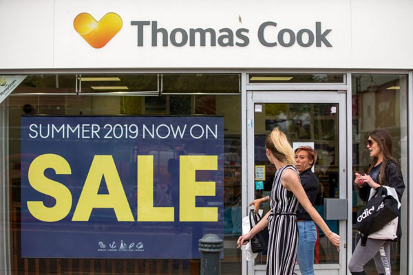 Hays Travel:將收購Thomas Cook全部線下門店