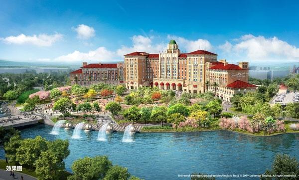 北京环球度假区:正式发布两家主题酒店