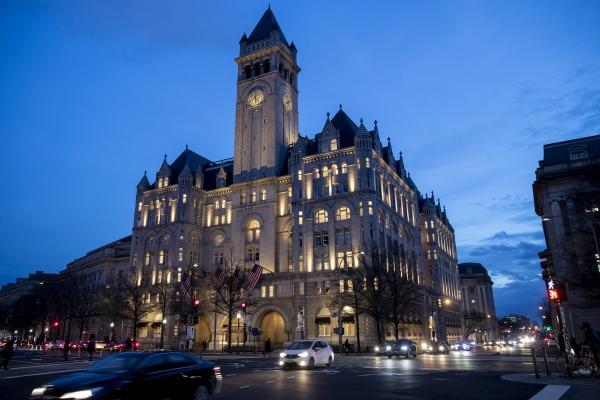 美國:特朗普集團計劃出售旗下華盛頓酒店