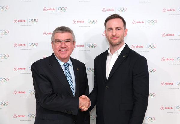 爱彼迎:成为国际奥委会奥林匹克全球合作伙伴