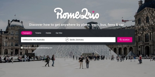 Omio:收購多式聯運交通搜索平臺Rome2rio