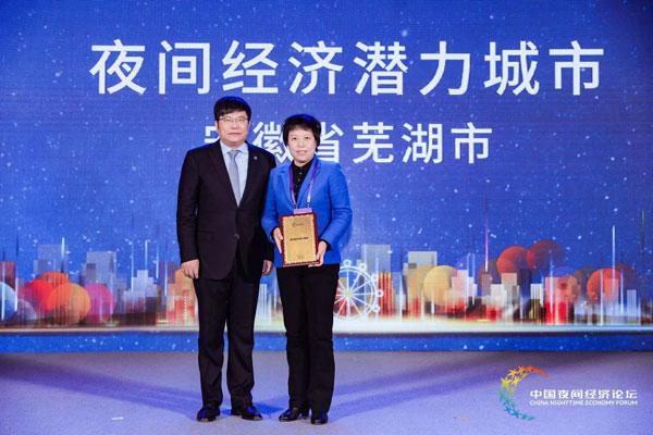"""""""2019中国夜间经济论坛""""标杆系列在芜发布"""