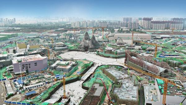 奔赴2021之约:北京环球度假区初现细节